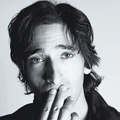 Adrien Brody. Goodness. - the more I look at this, the more it is one of my favorite pictures ever.