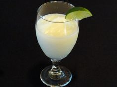 Rum Coconut Slush-now I know what I will do with all of that Bacardi that we brought back from Puerto Rico!