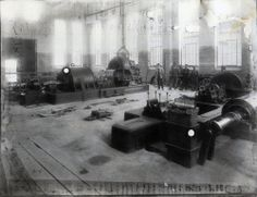 Thermo Electric Plant no. 1 in Hunedoara (Eisenmarkt), Romania during it's construction in 1914
