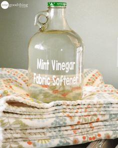 Scented Vinegar Laundry Rinse