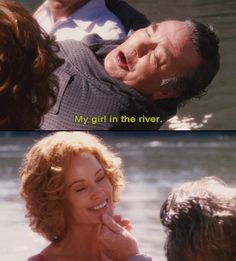 Who doesn't want to be someones girl in the river?!?! This doesn't take me to another world, just the old one where Grandpa was. All his wonderful stories...to live a long life and have so many people love him...Herb and I are very lucky to have known him!!