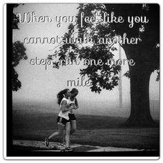 Run until u can't run anymre!