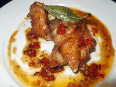 MANUALIDADES Y MAS COSAS:  pollo en pepitoria( receta extremeña)