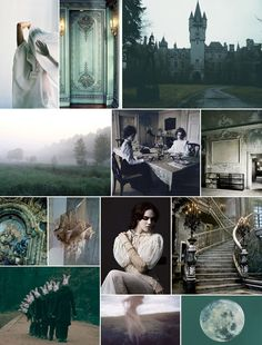 Haunted Mansion Mood Board | Camille Styles