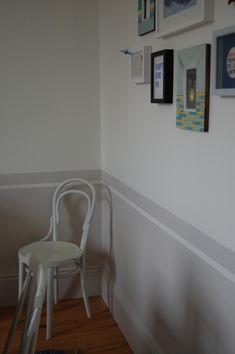 Mit Farbe Wandmuster Streichen Kreative Wandgestaltung Wand Streichen  Streifen, Wände Streichen Ideen, Arbeitszimmer,