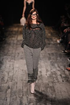 Fall 2012 Trend: The Woven Ones  (Nina Ricci RTW Fall 2012)