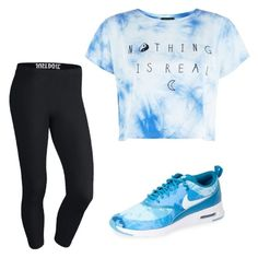 """Gym Fab"" by janelgilmore on Polyvore featuring NIKE"