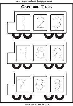 Autobus - Traçage 1-9