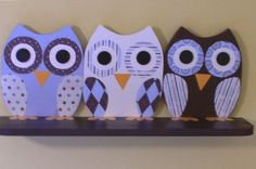 Wooden Owl Shelf by TheWoodenOwl on Etsy, $74.99