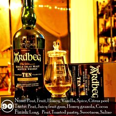 Ardbeg 10 Year L03 281 is awesome. I'm really truly enjoying every moment with this dram. The unique darkness that runs through it is awesome and I love the complex spice notes and how they help balance out the peaty and fruity notes across the nose and palate. As a whole it comes across a bit richer than some of the recent releases I've had. This could be because the casks used were newer back in '93 when they were filled or maybe Allied did something a bit different. Whatever the reason…