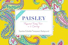 Seamless Paisley Print Patterns - Patterns - 4