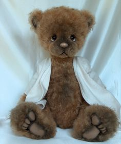 Malcom - Long Long Ago Collectibles by Teddy Bear Artist Pat Youderin