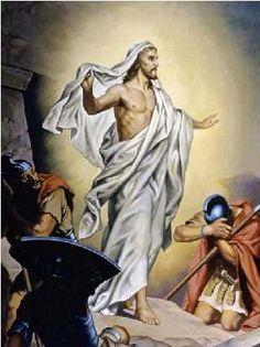 The Resurrection of Jesus Art Print by Heinrich Hofmann at Barewalls.com