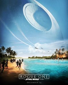 New Star Wars Rogue One Poster #starwars #rogueone #poster #scifi #agalaxyfarfaraway #excited