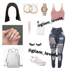 (Which outfit set?) Follo (Which outfit set? Swag Outfits For Girls, Boujee Outfits, Cute Comfy Outfits, Teenage Girl Outfits, Cute Outfits For School, Cute Casual Outfits, Teen Fashion Outfits, Dope Outfits, Stylish Outfits