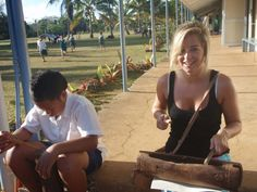 Music Lesson, Cook Islands| Find opportunities to teach, travel and volunteer with www.frontiergap.com | #education