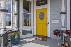 Traditional Front Door with exterior stone floors in Alameda, CA | Zillow Digs