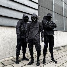 Dark Fashion, Grunge Fashion, Urban Fashion, Tactical Clothing, Cyberpunk Fashion, Cute Couples Goals, Look Cool, Streetwear Fashion, Camouflage