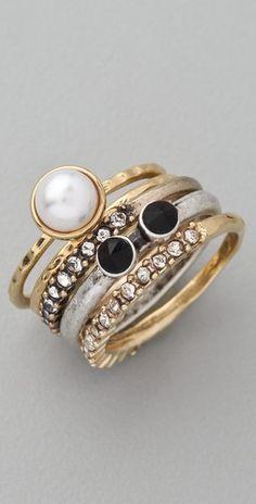 Rachel Leigh Jewelry. Estates Ring Set.
