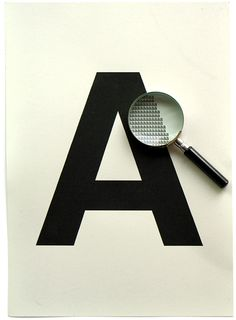 LETTER A- cool typography effect, Graphic design, design