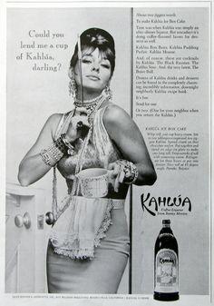 1963 Kahlua publicité Liqueur au café rétro par RetroReveries