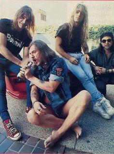 Motörhead (Mick Würzel, Lemmy Kilmister, Mikkey Dee e Phil Campbell)