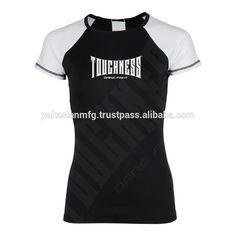 Rash Guard - Short Sleeve Custom Sublimation Printed - BJJ Martial Arts MMA Boxing Training #bjj_rash_guard, #Mma_Training