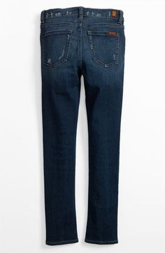 7 For All Mankind® Skinny Jeans (Big Girls) available at #Nordstrom