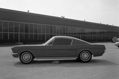 OG | 1964 Ford Mustang Mk1 Fastback |  Clay model dated Apr. 1963
