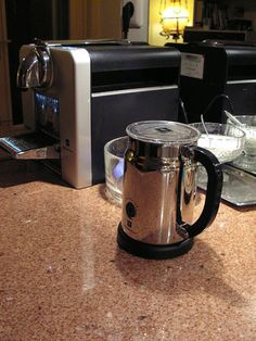 Nespresso Aeroccino milk frother and Magimix Cube