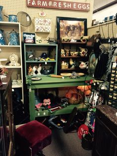 New space at Jesse James Antique Mall, St Joseph, MO