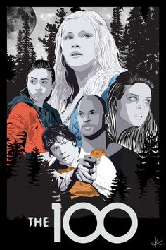 The 100 Fanart : Photo