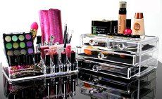 Girls love having and collecting an array of beauty products, makeup and accessories. Sometimes, lining them up on the bathroom counter or cabinet isn't an option for many r