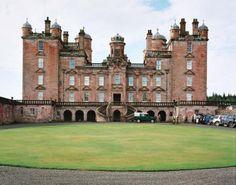 Drumlanrig Castle, Queensberry Estate in Dumfries & Galloway, Scotland, comes with 90,000 acres.. cntraveler.com