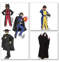Children's/Boys' Hero Costumes