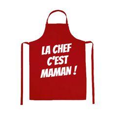 Tablier La Chef C'est Maman