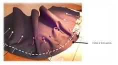 Aprende a coser una BANDANA de CHEF 🍜🍚🍝🍳🍲 — Steemit Bandana, Dachshund, Mascara, Poppies, Bucket Bag, Bones, Stitch, Hats, Fashion