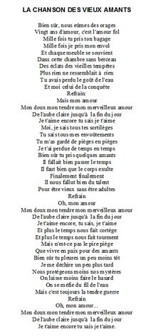 La chanson des vieux amants - Jacques Brel Lyric Quotes, Me Quotes, Motivational Quotes, Lyrics, Take A Smile, Music Pictures, Teaching French, Smart People, Motivation Inspiration