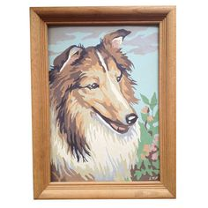 Paint by Number Collie $30