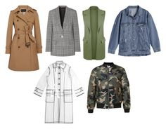 Верхняя одежда осень 2017 by mvasileva on Polyvore featuring мода, Miu Miu, Alexander Wang, J.Crew and WearAll