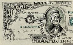 Коровьевские доллары. Иллюстрации Сергея Тюнина.