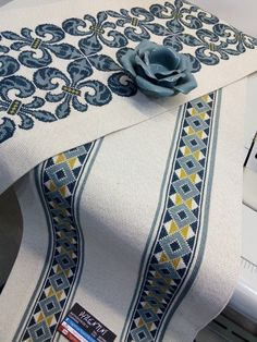 Bargello, Lace Patterns, Cross Stitch, Embroidery, Rugs, Fabrics, Home Decor, Cross Stitch Flowers, Tablecloths