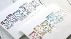 Two Glittery Shaker Cards – kwernerdesign blog