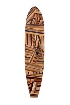 MULHOLLAND SURFBOARD- Okay, no one really needs a surfboard like this, but it's a Super Cool Design!  This is from the Kelly Wearstler product line. Description: The handcrafted puzzle design features a spectrum of rich woods in Walnut, Cherry, Koa, Ash, Thermowood Ash, Russian Birch Plywood, Douglas Fir, Wenge, White Oak, and South American. A soulful and spirited homage to iconic west coast style.
