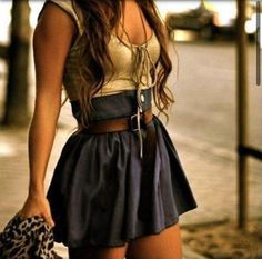 Cute autumn evening outfit :)