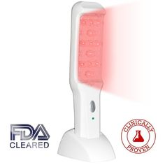 NutraStim Professional Hair Growth Laser Comb - Advanced FDA Cleared Hair Loss Treatment For Women & Men With Thinning Hair - Superior Regrowth Therapy Combs To Grow Thicker & Fuller Hair Natural Hair Loss Treatment, Hair Growth Treatment, Laser Comb, Hair Laser, Clear Hair, Thin Hair Styles For Women, Regrow Hair, Fuller Hair, Hair Loss Remedies
