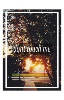 Don't Touch Me Poster Poster - Troye Sivan Posters - Online Store on District Lines