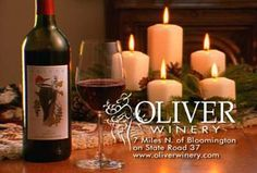 Oliver Wine- Enjoying a glass of their Soft Red right now!
