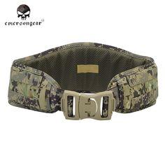 emerson dump double decker magazine pouch modular single rifle emerson military tactical padded belt molle nylon waist belt men airsoft combat camo belt outdoor hunting