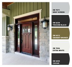 Front door? Paint colors from Chip It! by Sherwin-Williams